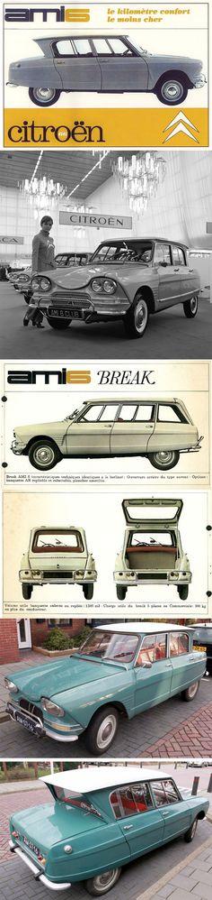 Citroën Ami 6 - depliant (1961)