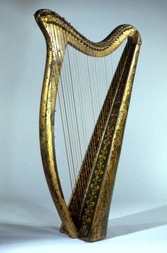 John Egan. Portable Harp, 1819. Wood, various materials. The Metropolitan Museum of Art, New York, The Crosby Brown Collection of Musical Instruments, 1889 (89.4.1083)