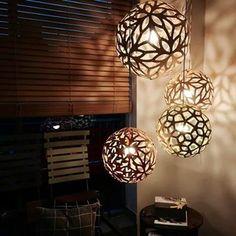 #davidtrubridge pendant #lighting (FLORALs)