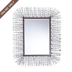Kirkland's: Metal Jeweled Rays Mirror