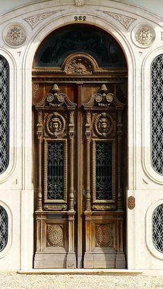 Подъезда Дома, Древесины, Старая Дверь, Орнамент