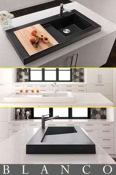 #BLANCO Modex Architectural Kitchen Sink - Kitchen Design - #DesignMagnifique - #BlogtourLDN