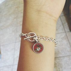 """""""Every place we end up in, or special event we experience, we'll add another charm."""" Thank you to my baby love :)) usmc love ❤"""