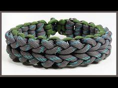"Paracord Bracelet Tutorial: ""Cloverfield V1"" Bracelet Design Without Buckle - YouTube"