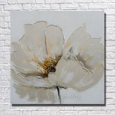 Free Shipping 100% Hand Painted  Flower Oil Painting Home Decoration Modern Abstract Acrylic Beautiful Paintings no Framed
