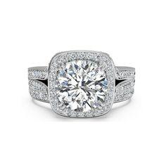 IGI Certified 1.25 Ct Round Diamond Wedding Band Set Solid 18K White Gold 5 7 8 #Handmade