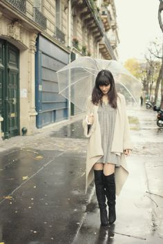 Top 10 Rainy Day Outfit Ideas - Love the lengths