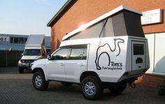 Custom Campers - Toyota J20 Toyota Camper, Suv Camper, Camper Parts, Off Road Camping, Truck Camping, Van Camping, Truck Tent, Custom Campers, Overland Trailer