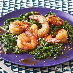 Sesame Shrimp Saute