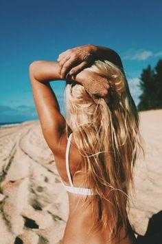#beach #blonde #style