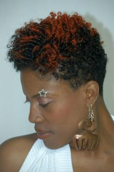 Short natural hairstyles black women