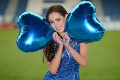 Pictured is top model Sinead Noonan at the launch of Leinster Rugby's seventh annual Leinster Loves Ladies evening. www.leinsterrugby.ie.