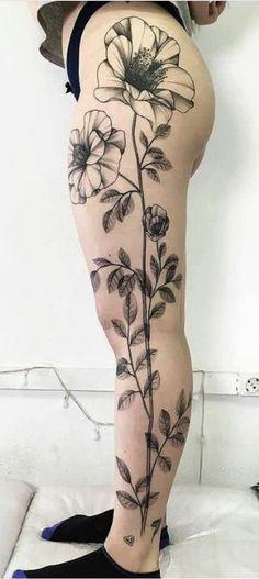 Full Leg Tattoos, Foot Tattoos For Women, Rose Tattoos, Body Art Tattoos, Girl Tattoos, Incredible Tattoos, Gorgeous Tattoos, Delicate Tattoo, Feminine Tattoos