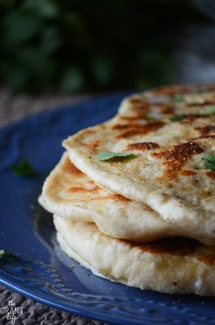 Classic naan recipe!  So easy to make and it looks so good!