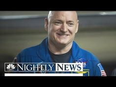 NBC News: Back on Earth, Astronaut Scott Kelly Discusses His Year in Space | NBC Nightly News