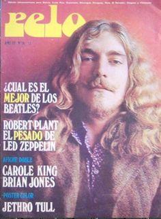Robert Plant of Led Zeppelin - Pelo Magazine #RobertPlant #LedZeppelin #LedZep…