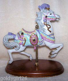 Lenox Carousel Charger Horse Figurine 1990 Mint | eBay