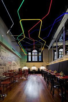 Restaurant or bar   Byron  Lead designer   Michaelis Boyd Associates  Clare Nash