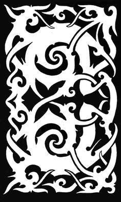 tribal tattoos flower designs and borneo tattoos on pinterest. Black Bedroom Furniture Sets. Home Design Ideas