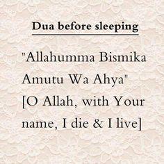 Ameen - Dua before bedtime