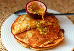 Buckwheat pancakes w/ pomegranate by @Deenakakaya for a light & fluffy #pancakeday treat http://togbc.com/1AeEB7U