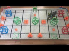 Squared Away Driver Skills: 73 points: 2 X 20 Green Cubes on Platforms) 3 X 10 Blue and 2 Red Cubes in Corner Goals) 3 X 1 Balls inside Cubes; Vex Robotics, Robotics Club, Christian School, Robot Design, Problem Solving, Cubes, Make It Yourself, Math, Youtube