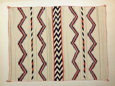 starting in 1935, Russell Vernon Hunter & Chapman of the Library of Anthropology in Santa Fe set out to develop a portfolio of Navajo blankets spanning 1840-1910