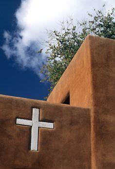 Sante Fe Church - so simple