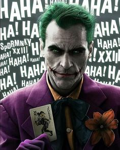[Casting Rumor] Joaquin Phoenix is in talks to play Joker in Todd Phillips' non-DCU connected movie. The film would be set in the in Gotham City and would be produced by Martin Scorcesee Joker Batman, Joker Art, Gotham Batman, Superman, Joaquin Phoenix, Fotos Do Joker, Joker Pics, Der Joker, Joker Und Harley Quinn