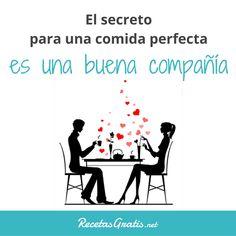 El ingrediente secreto... #RecetasGratis #FrasesDivertidas #Expresiones #Quotes #FrasessobreComida #FrasedelDía #Amor