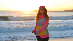 Sunset in my heart, sunset on my favourite hoodie