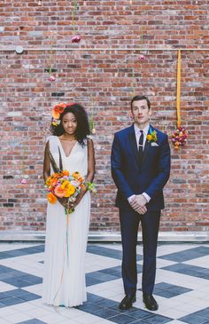 ♥Beautiful Bride: Colorful Styled Shoot Reminiscent of the Spring by Amber Gress, Photographer