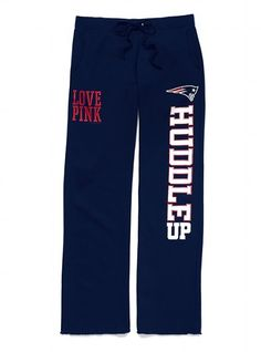 Victoria's Secret PINK® New England Patriots Boyfriend Pant #VictoriasSecret http://www.victoriassecret.com/pink/new-england-patriots/new-england-patriots-boyfriend-pant-victorias-secret-pink?ProductID=74099=OLS=true?cm_mmc=pinterest-_-product-_-x-_-x