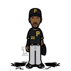 "Andrew McCutchen Pittsburgh Pirates ""Opening Day"" Tyke. Cutch's Tyke is sporting his new haircut as he cut his signature deadlocks in an effort to raise money for charity. He also went 2-for-4 in the season opener with a two-run blast against the Reds. #AndrewMcCutchen #PittsburghPirates #Pirates #baseball #MLB #OpeningDay #tyke #tykes #MyTyke www.tykes.co"