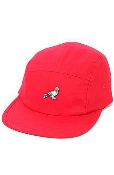 The RPB 5 Panel Cap in Red by Staple