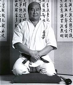 "Sosai Mas Oyama, founder of Kyokushin karate, which means ""the search for the ultimate truth"". It's known to be the first and most influential style of full contact karate. Kyokushin now has more than 10 million practitioners in more than 120 countries."