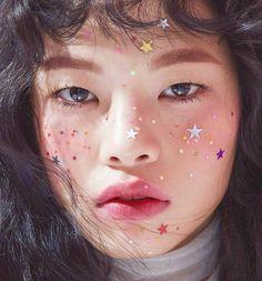 """bienenkiste: """"Kim A Hyun for CéCi Korea """" Eye Makeup, Makeup Art, Beauty Makeup, Hair Makeup, Hair Beauty, Alien Makeup, Witch Makeup, Scary Makeup, Beauty Shoot"""