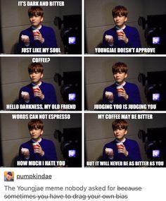 Bap Yoo Youngjae funny Kpop