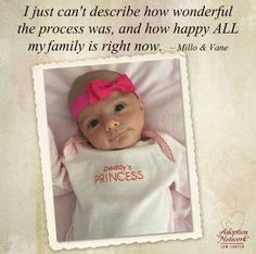 What a pleasure to help this family #adopt their precious baby daughter!