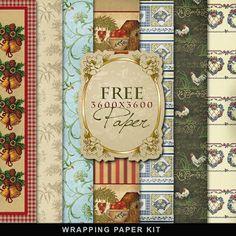 Far Far Hill: Freebies Wrapping Paper