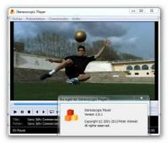 STEREOSCOPIC PLAYER 2.0.1 IS AVAILABLE  Stereoscopic Player 2.0.1 is available for download since February 20, 2013. Stereoscopic Player is a versatile 3D movie player for your PC written by Peter Wimmer from 3DTV.at. It is the most used 3D player in the PC world.