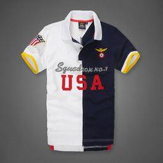 Navy Blue Polo Shirts, Polo Shirt White, Polo T Shirts, Short Sleeve Polo Shirts, Cheap Ralph Lauren Polo, Polo Shirt Design, Polo Fashion, Surf Wear, Camisa Polo