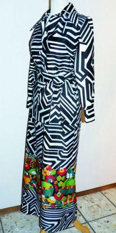 1970s-Lanvin-Paris-Black-White-Geometric-MOD-Flower-Power-MAXI-Shirt-Dress-12