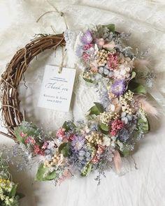 Wedding Wreaths, Wedding Bouquets, Wedding Flowers, Wedding Decorations, Wedding Ideas, Dried Flower Wreaths, Dried Flowers, Corona Floral, Easter Crafts