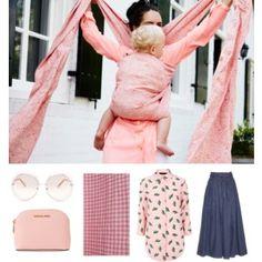 7b2a4bd710d Mom Fashion  Real Women Wear Pink  amp  their Babies  babywearing   artipoppe Mom