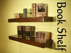 You are purchasing TWO Floating shelves Walnut Color.  Unit 35.3/4 Long x 12 Deep x 2.3/4 High  Built in plywood Maple  Walnut Color.    Features    *