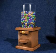 Gumball Machine Plans - Furniture Plans