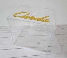 Wedding Card Box I Acrylic Card Box I Wedding Card Box with
