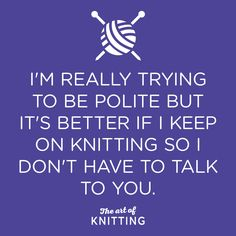 Sorry, what was that? *continues knitting* #knit #knitting #artofknitting