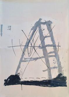 Antoni Tàpies, 'L'echelle,' 1968, Han Art